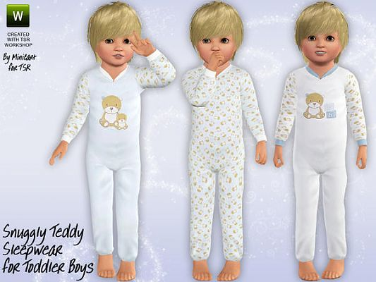 Sims 3 sleeper, pj, toddler