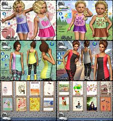 Sims 3 clothing, objects, sims3