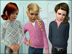 Sims 3 hoodie, top, clothing, clothes