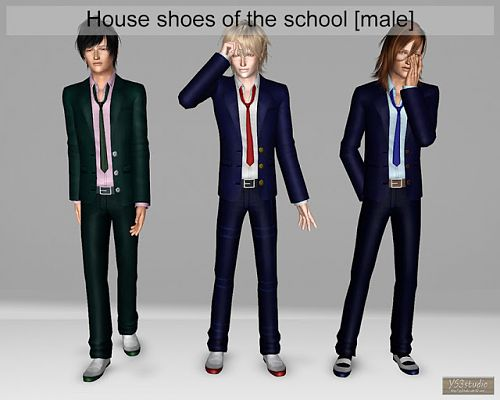 Sims 3 shoes, fashion, flats