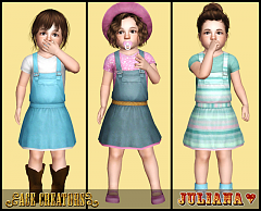 Sims 3 toddler, outfit, clothes