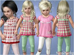 Sims 3 outfit, toddler, clothing, sims 3