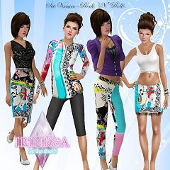 Sims 3 dress, outfit, swim, clothing, fashion, female