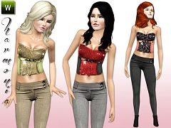 Sims 3 cloth, pants, sims3