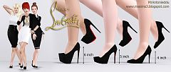 Sims 3 shoes, fashion, high heels, pumps, designer