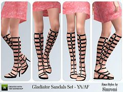 Sims 3 shoes, fashion, flats, sandals
