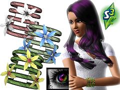 Sims 3 bracelet, fashion, female, acessories, jewelry