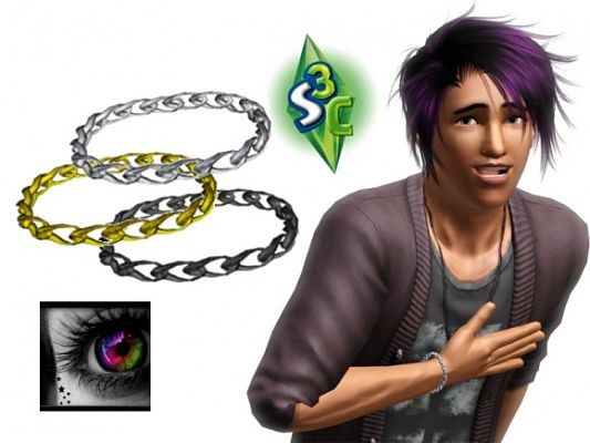 Sims 3 bracelet, jewelry, sims3, accessory