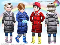 Sims 3 outfit, clothing, fashion, female, toddler