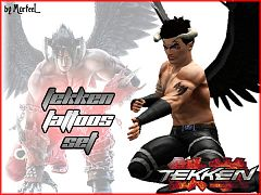 Sims 3 tattoo, tattoos, tekken