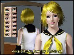 Sims 3 eyes, contact, lenses, anime