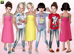 Sims 3 dress, cloth, clothing, outfit, fashion, girl