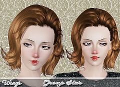 Sims 3 hair, hairstyle, female, sims3, sims 3
