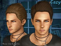 Sims 3 hair, hairstyle, male, sims3, sims 3