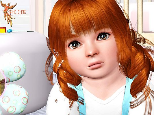 Sims 3 sims, female, toddler