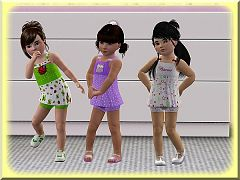 Sims 3 cloth, clothing, outfit, fashion, toddler