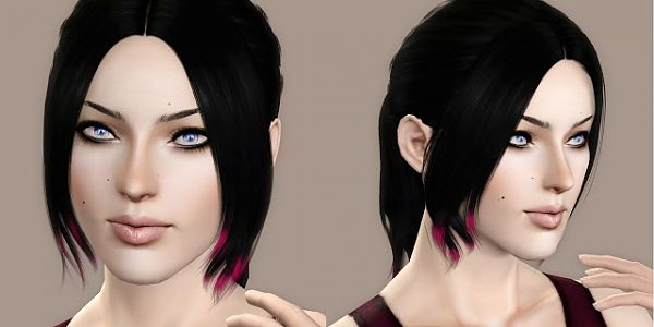 Sims 3 hair, hairstyle, female, sims3, sims 3, retexture