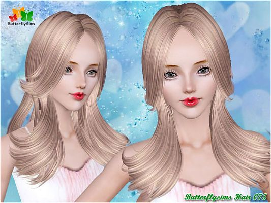 Sims 3 hair, genetics, hairstyle, female