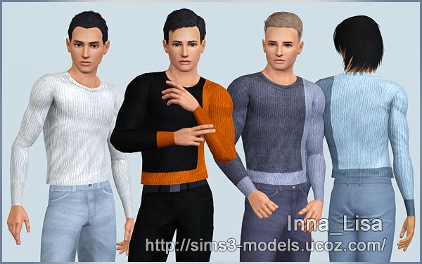 Sims 3 sweaters, top, clothes