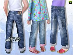 Sims 3 kids, clothing, sims 3