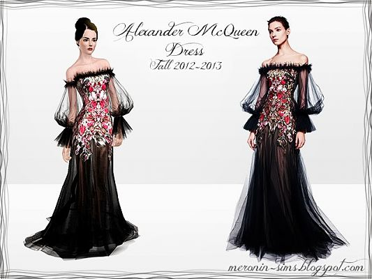 Sims 3 dress, outfit, clothing, female, fashion, designer, formal