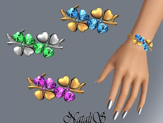 Sims 3 bracelet, jewelry, accessories, female, fashion