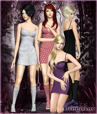 Sims 3 convertion, clothes