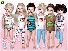 Sims 3 cloth, clothing, outfit, toddler