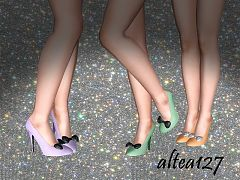 Sims 3 shoes, high heels, fashion, female