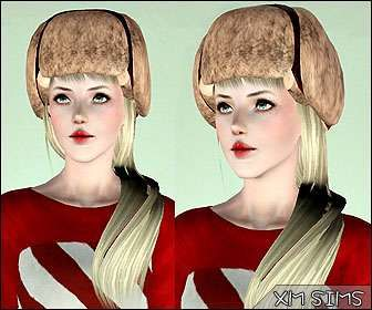 Sims 3 hair, hairstyle, genetics, fashion, female