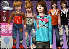 Sims 3 fashion, clothing, clothes, sims