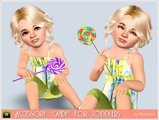Sims 3 candy, accessories, fashion, toddler, sims3