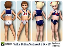 Sims 3 swim, swimwear, fashion, clothing, female, toddler, sims3