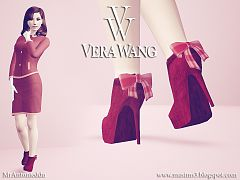 Sims 3 shoes, boots, fashion, female, high heels, sims3