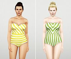 Sims 3 swim, swimwear, swimsuit, fashion, female, sims3
