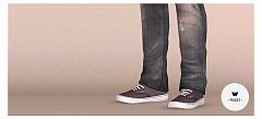 Sims 3 shoes, sneakers, flats, male, sims3