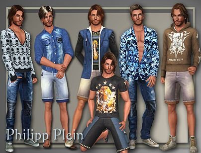 Sims 3 top, clothes, fashion, males, bottom