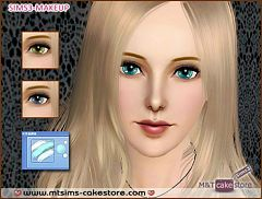 Sims 3 eyes, crystal, genetics