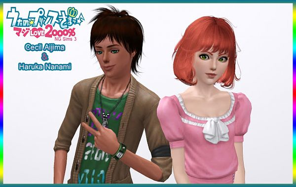 Sims 3 sim, sims, model, sims 3, female, male, anime