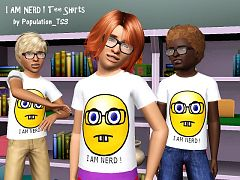 Sims 3 shirt, male, clothing, sims3