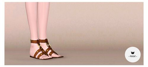 Sims 3 shoes, footwear, sandals
