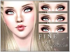 Sims 3 eyebrows, genetics, female, brows, sims3