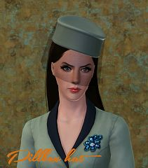 Sims 3 hat, accessory, net