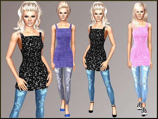 Женская повседневная одежда. Sims3updates_cas_18142_M