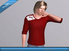 Sims 3 top, clothes, sport