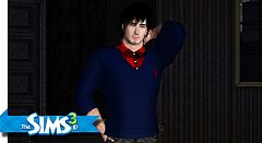 Sims 3 sweater, top, males