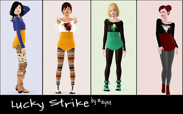 Sims 3 outfit, clothing, fashion