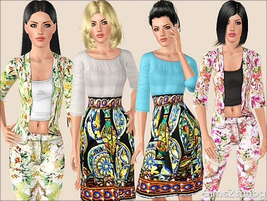 Sims 3 shoes, designer, sims 3