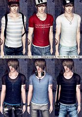 Sims 3 outfit, clothing, male, top, sims3