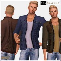 Sims 3 jacket, top. males